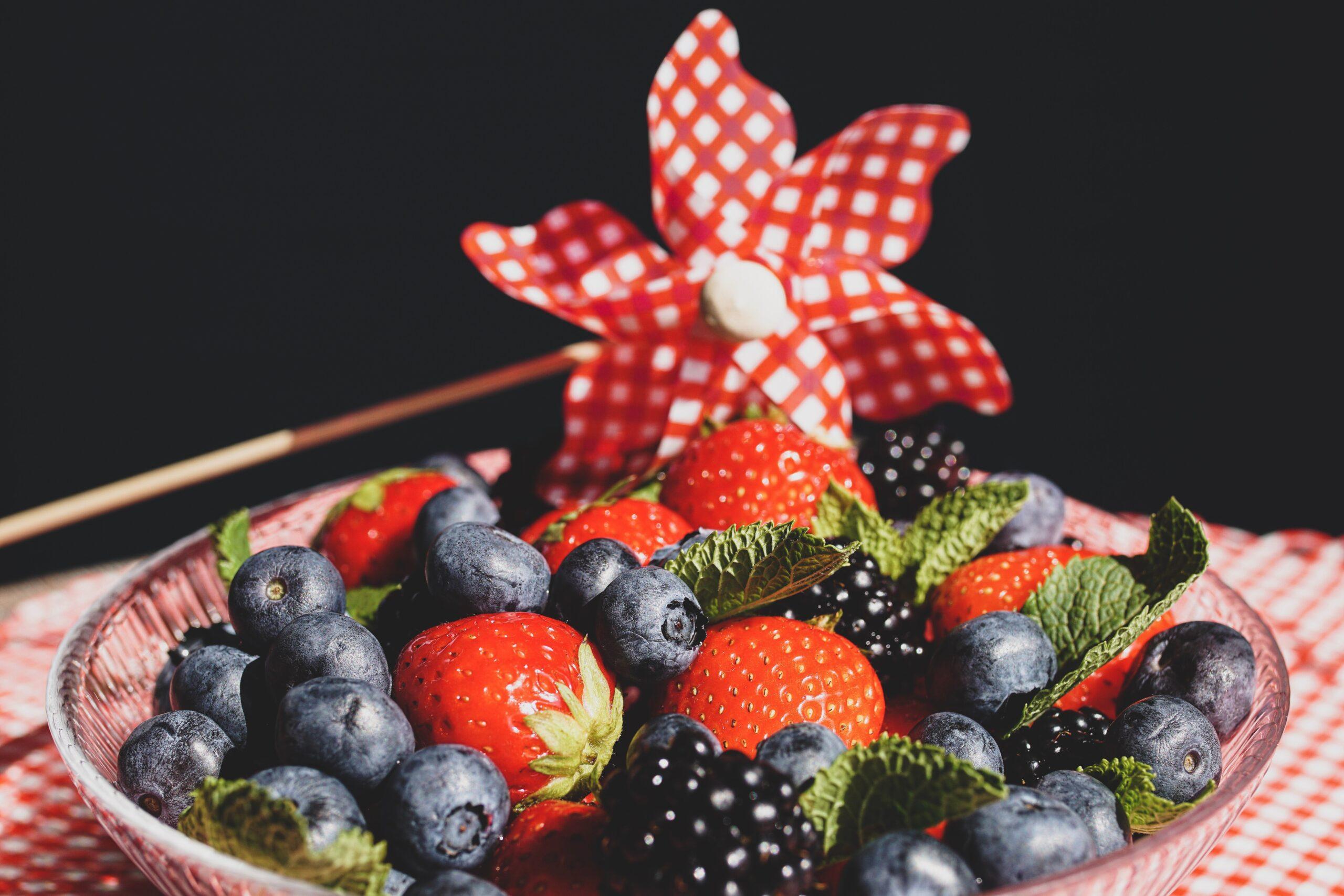Owoce jagodowe, fot. pexels.com